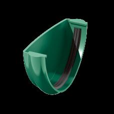 Заглушка желоба универсальная ПВХ Технониколь 125 мм Зеленый