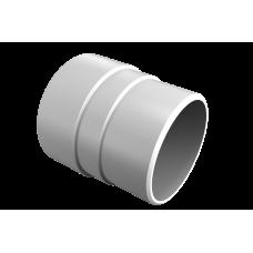 Муфта трубы соединительная ПВХ Vinylon 90 мм Белый