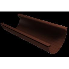 Желоб водосточный полукруглый ПВХ Vinylon 125 мм Кофе 3 м