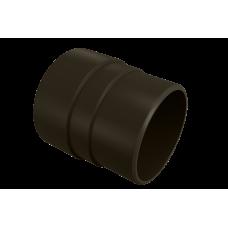 Муфта трубы соединительная ПВХ Vinylon 90 мм Венге