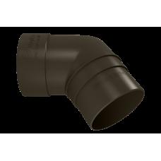 Колено трубы 67 град ПВХ Vinylon 90 мм Венге