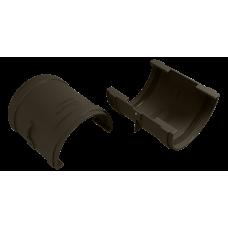 Муфта желоба соединительная ПВХ Vinylon 125 мм Венге