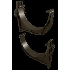Крюк желоба короткий L-112 мм ПВХ Vinylon D125 мм Венге