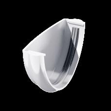 Заглушка желоба универсальная ПВХ Технониколь 125 мм Белый