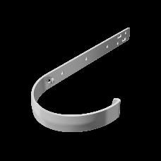 Крюк желоба длинный металлический Технониколь D125 мм Белый