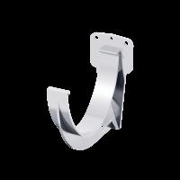 Крюк желоба короткий ПВХ Технониколь D125 мм Белый