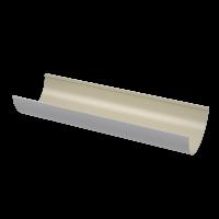 Желоб водосточный полукруглый ПВХ Технониколь 125 мм Белый 3 м