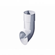 Колено сливное ПВХ Технониколь 82 мм Белый