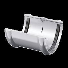 Соединитель желоба ПВХ Технониколь 125 мм Белый