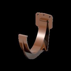 Крюк желоба короткий ПВХ Технониколь D125 мм Коричневый