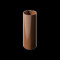 Труба водосточная круглая ПВХ Технониколь 82 мм Коричневый 3 м