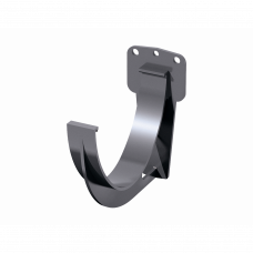 Крюк желоба короткий ПВХ Технониколь D125 мм Серый
