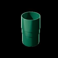 Муфта трубы соединительная ПВХ Технониколь 82 мм Зеленый