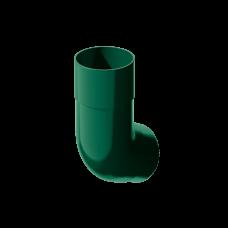 Колено трубы 135 град ПВХ Технониколь 82 мм Зеленый