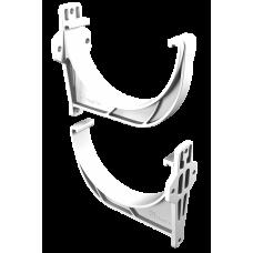 Крюк желоба короткий L-112 мм ПВХ Vinylon D125 мм Белый