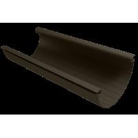 Желоб водосточный полукруглый ПВХ Vinylon 125 мм Венге 3 м