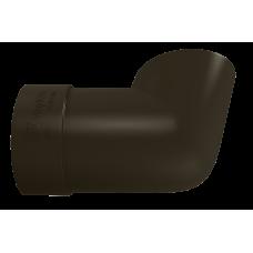 Колено сливное ПВХ Vinylon 90 мм Венге
