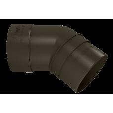 Колено трубы 45 град ПВХ Vinylon 90 мм Венге
