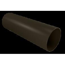 Труба водосточная круглая ПВХ Vinylon 90 мм Венге 3 м