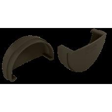 Заглушка желоба универсальная ПВХ Vinylon 125 мм Венге