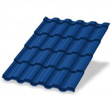 Металлочерепица Металл Профиль Монтекристо 0.5 мм Purman (RAL 5005 сигнальный синий)