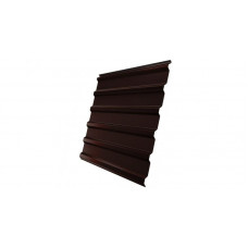 Профнастил Grand Line GL20 окрашенный  PE 0,35 (RAL 8017 шоколад)