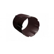 Соединитель трубы Grand Line Granite 90 мм RAL 8017 (шоколадно-коричневый)