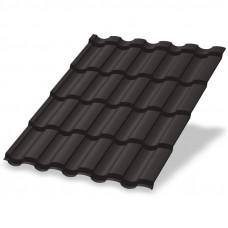 Металлочерепица Металл Профиль Монтекристо 0.5 мм Purman (RR 32 темно-коричневый)