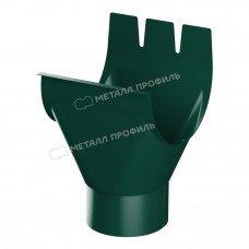 Воронка желоба Металл Профиль Престиж (Foramina) 150/100 мм RAL 6005 (зеленый мох)