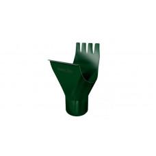 Воронка желоба Grand Line Granite 125/90 мм RAL 6005 (зеленый мох)