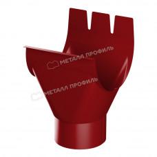 Воронка желоба Металл Профиль Престиж (Foramina) 150/100 мм P363 (красный)