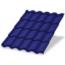 Металлочерепица Металл Профиль Монтекристо 0.5 мм Norman (RAL 5002 ультрамариново-синий)