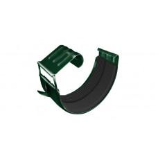 Соединитель желоба Grand Line Granite 125 мм RAL 6005 (зеленый мох)