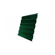 Профнастил Grand Line GL20 окрашенный  PE 0,35 (RAL 6005 зеленый мох)