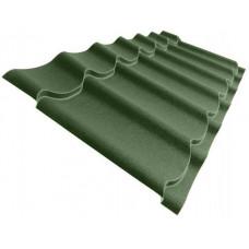 Металлочерепица Grand Line Classic 0.5 мм Velur (RAL 6020 хромовый зеленый) В наличии