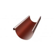 Желоб водосточный полукруглый Grand Line Granite 125 мм RAL 8004 (медно-коричневый) 3 м