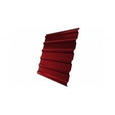 Профнастил GL20 Дачный PE 0.35 RAL 3011 коричнево-красный