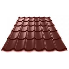 Металлочерепица Grand Line Classic 0.5 мм Satin (RAL 8017 шоколадно-коричневый) В наличии