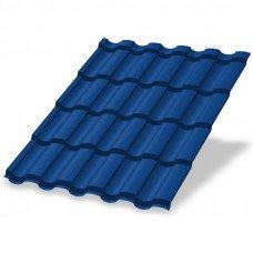 Металлочерепица Металл Профиль Монтекристо 0.5 мм Norman (RAL 5005 сигнальный синий)