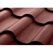 Металлочерепица Grand Line Kamea 0.5 мм Velur (RAL 8017 шоколадно-коричневый) В наличии
