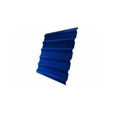 Профнастил Grand Line GL20 окрашенный  PE 0,35 RAL 5005 сигнальный синий