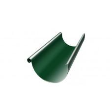 Желоб водосточный полукруглый Grand Line Granite 125 мм RAL 6005 (зеленый мох) 3 м